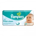 Servetėlės PAMPERS Baby Fresh, 64 vnt.