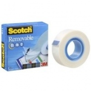 Lipni juosta SCOTCH MAGIC 811, nuimama, 19mmx33m, 1 vnt.
